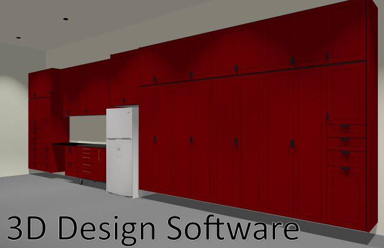 3D Design Software For Garage Cabinets